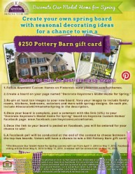 Spring Pinterest Contest