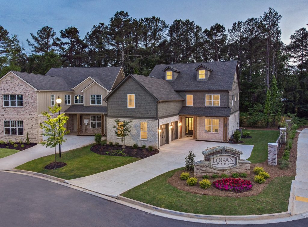 Cooper Model Home at Logan Park in Marietta