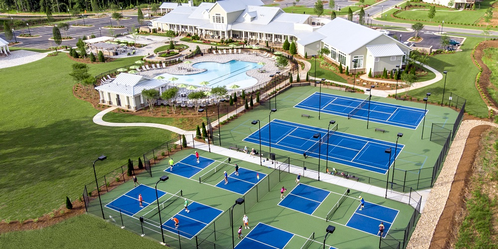Cresswind Peachtree City Amenities Aerial View