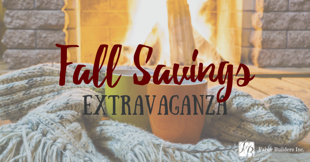 Faber Fall Savings Extravaganza