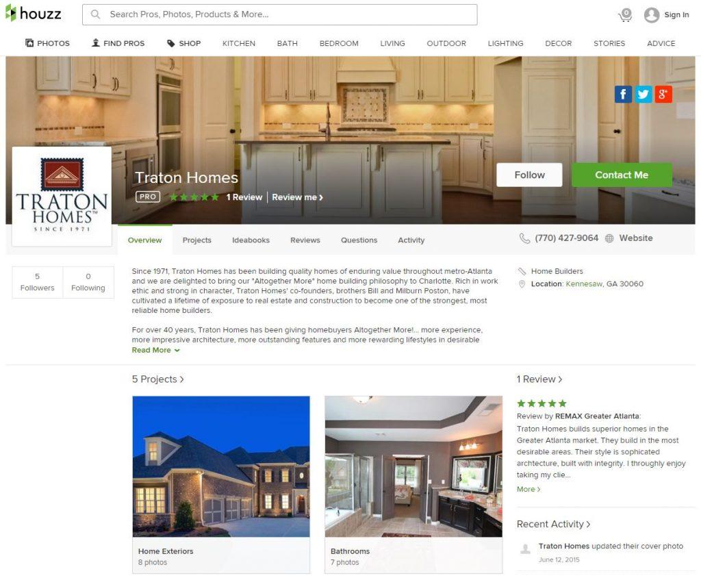 Traton Homes Reviews