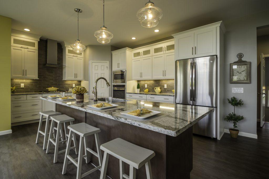 Queens Park model home kitchen