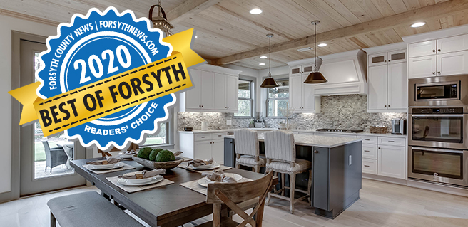 SR Homes Named Best Home Builder at 2020 Best of Forsyth Awards