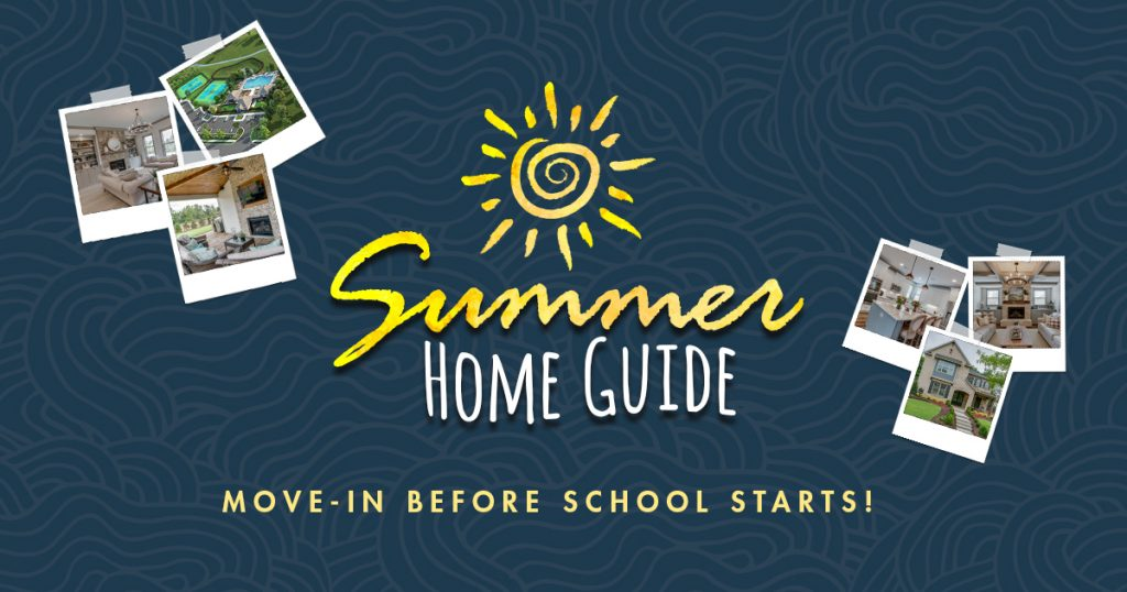 SR Homes Announces Summer Home Guide Savings up to $20K