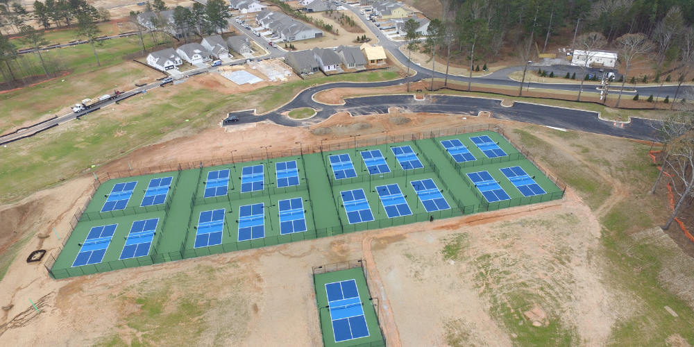 First Phase of Pickleball Center at Cresswind Georgia Nears Completion