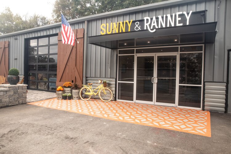 Sunshine on a Ranney Day, Crosby Design Group: Sunny & Ranney